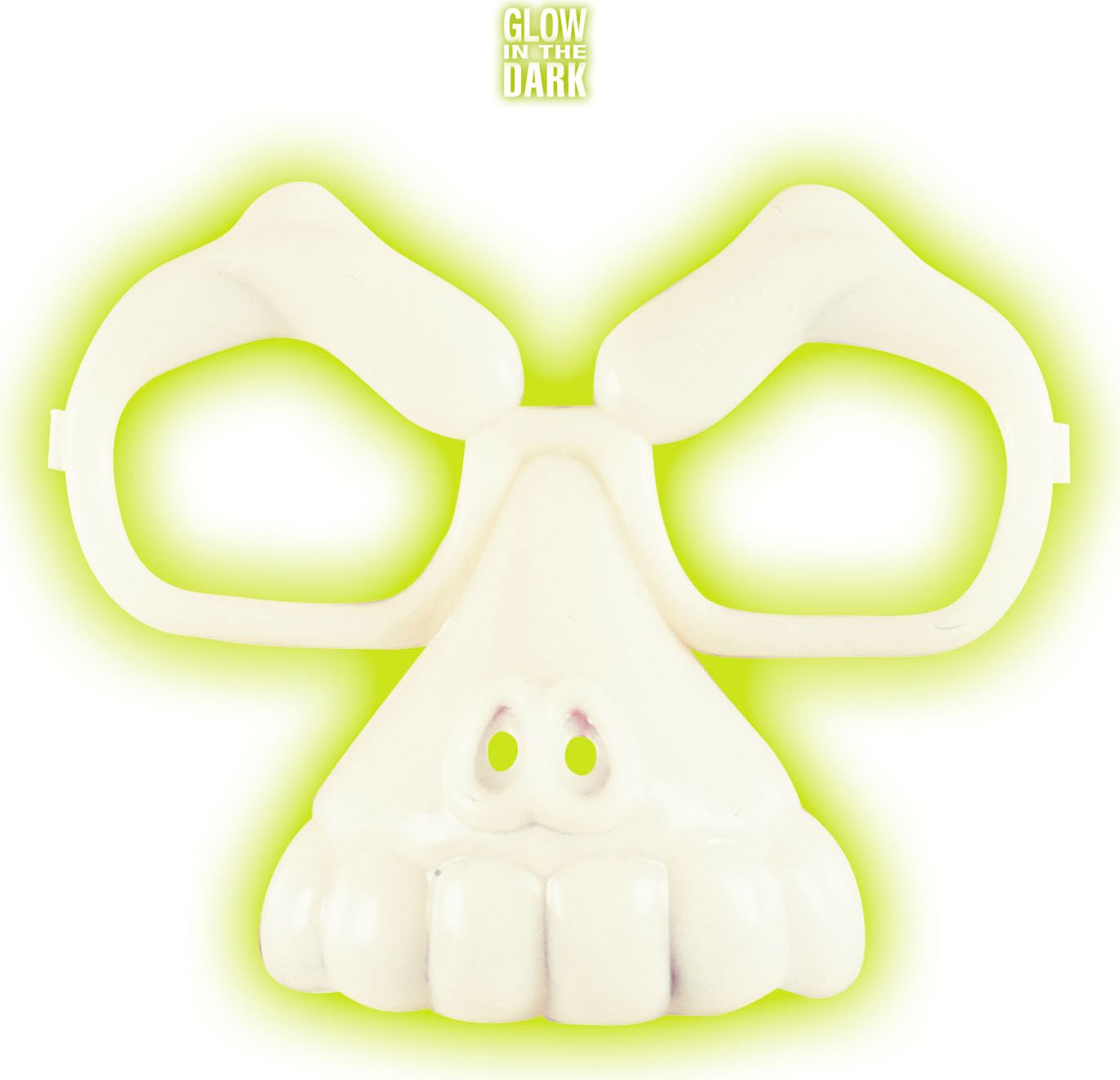Glow in the dark schedel bril
