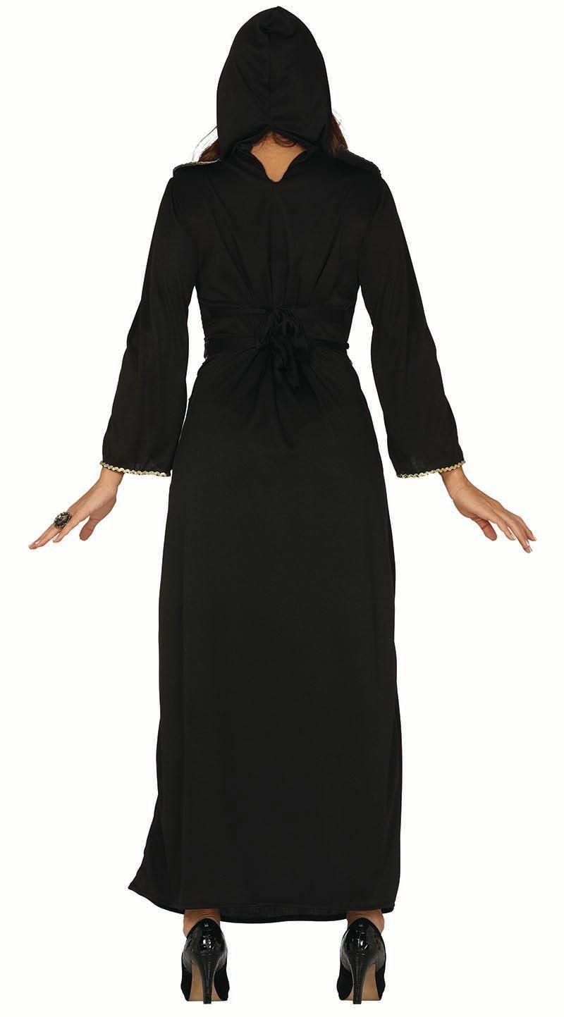 Gotische Halloween jurk zwart