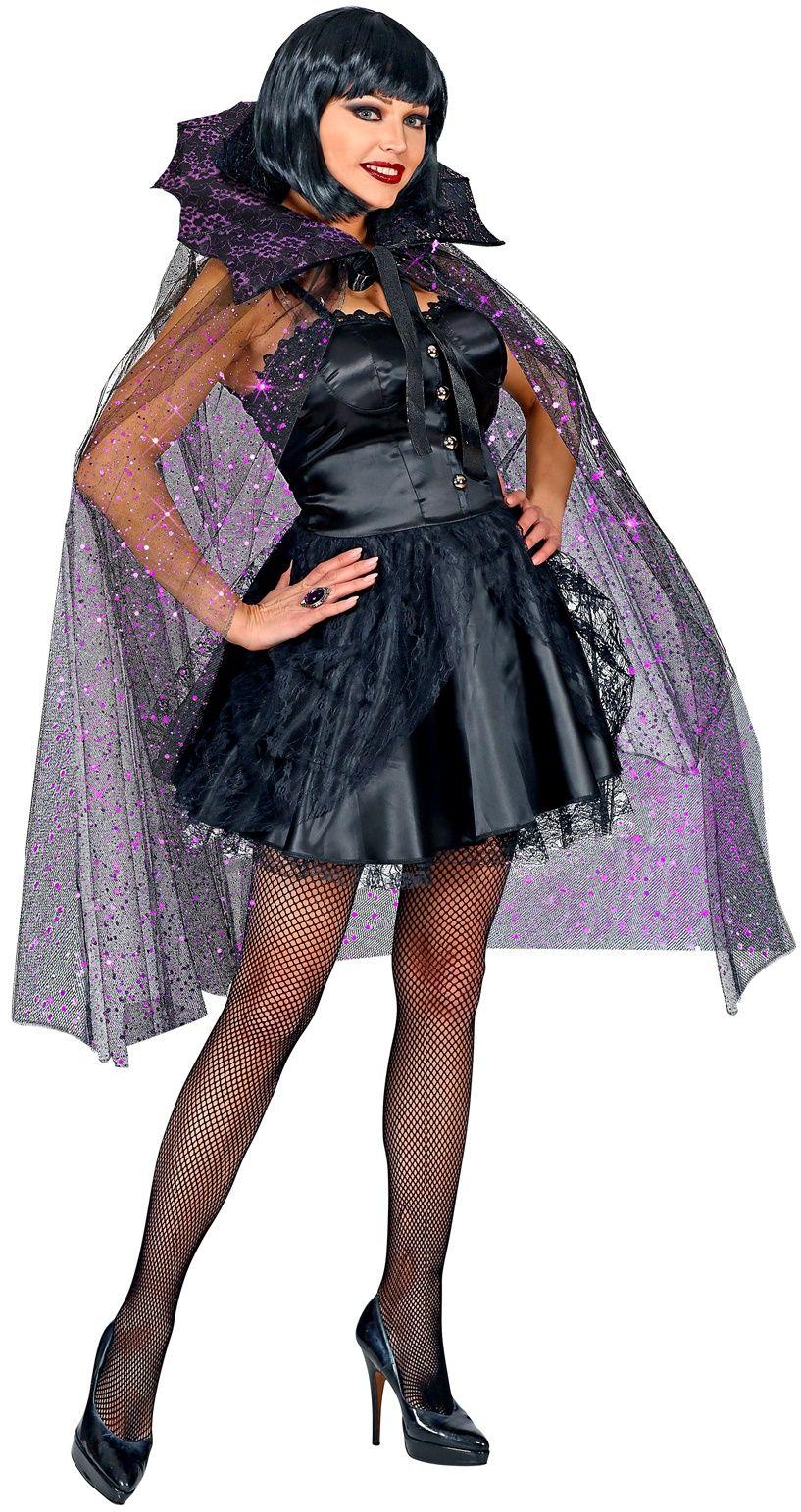 Gotische tule glitter cape