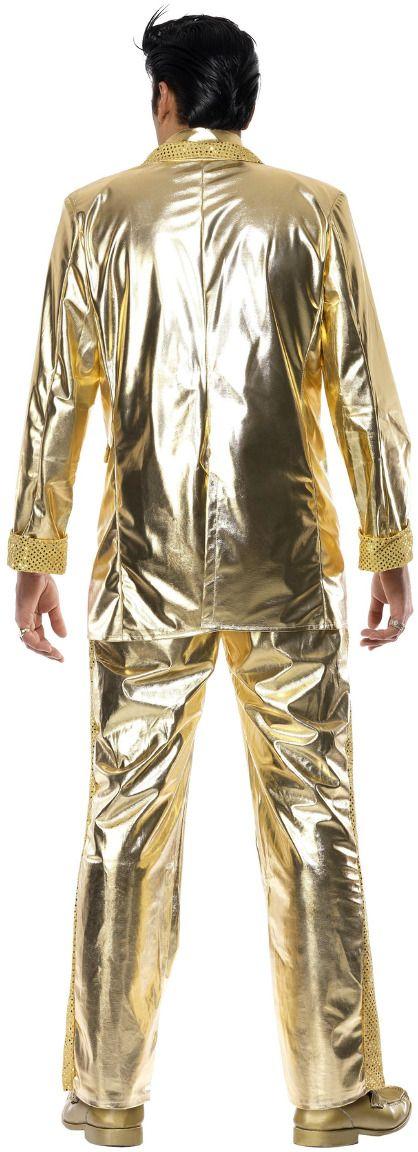 Goud Elvis kostuum