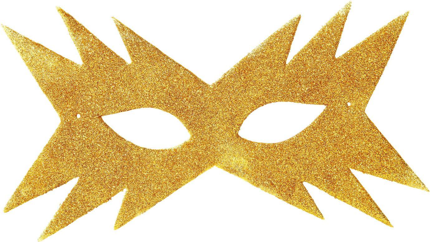 Goud sterren oogmasker