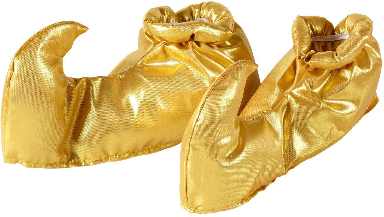 Gouden aladdin schoenen