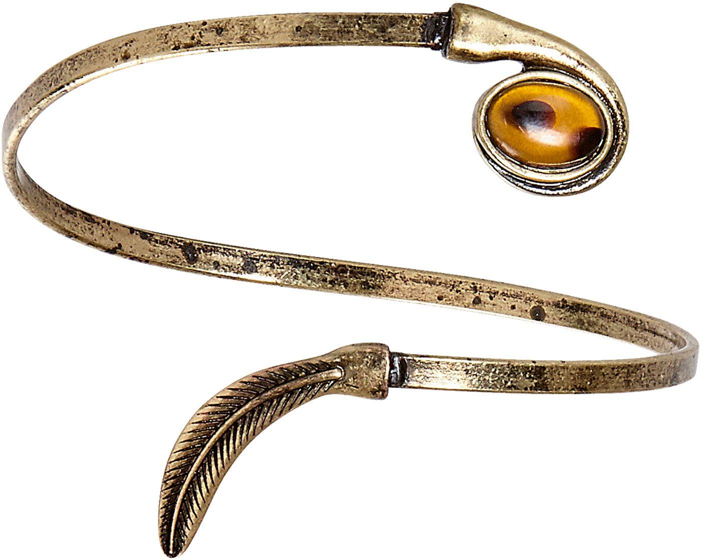 Gouden blad armband