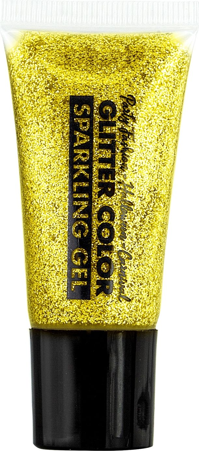 Gouden glitter schmink in tube