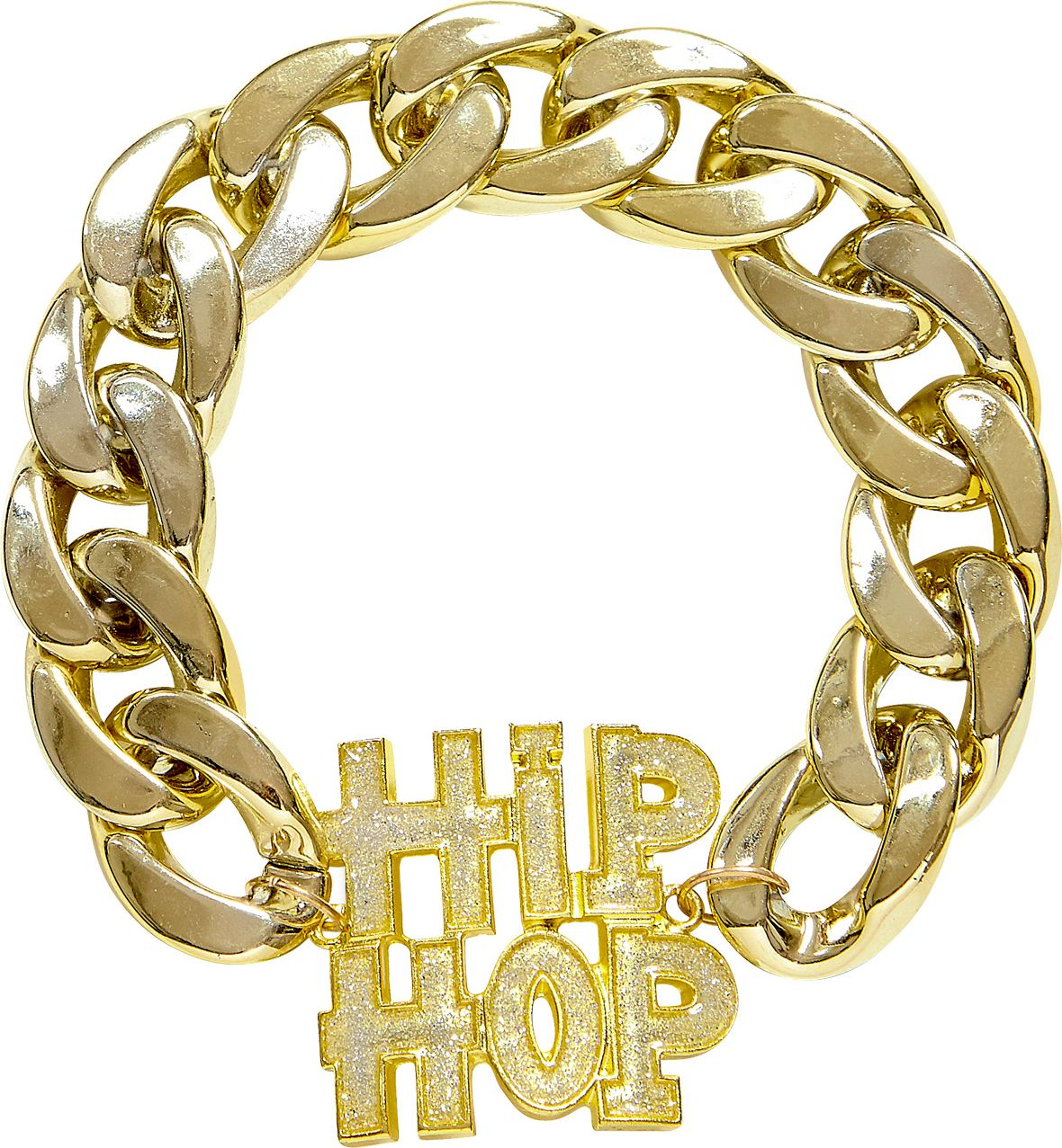 Gouden Hip Hop armband