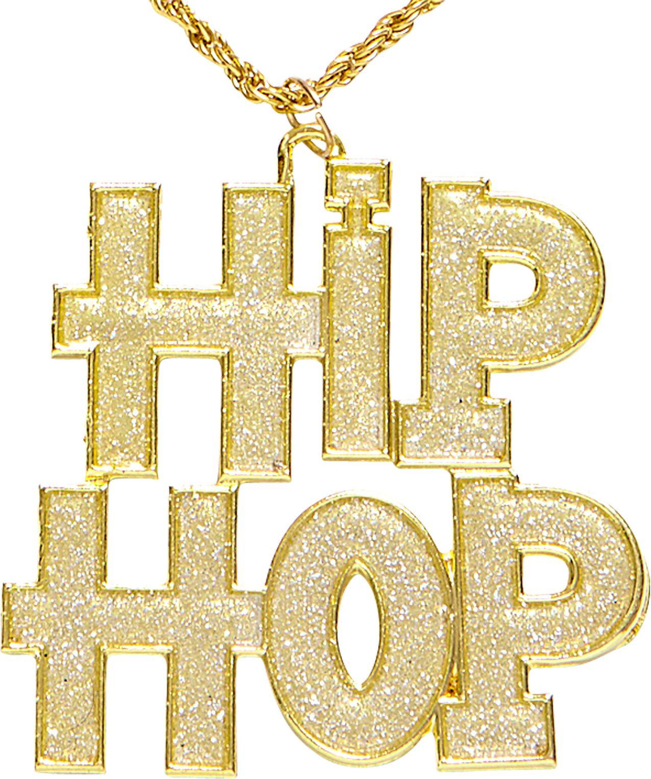 Gouden Hip-Hop ketting