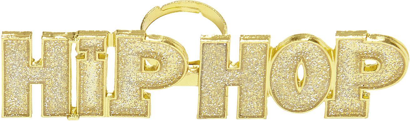 Gouden Hip-Hop ring