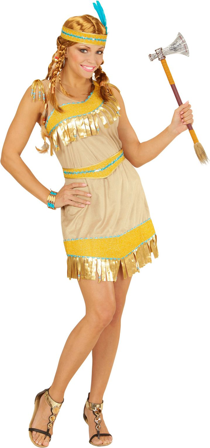 Gouden indianen jurkje