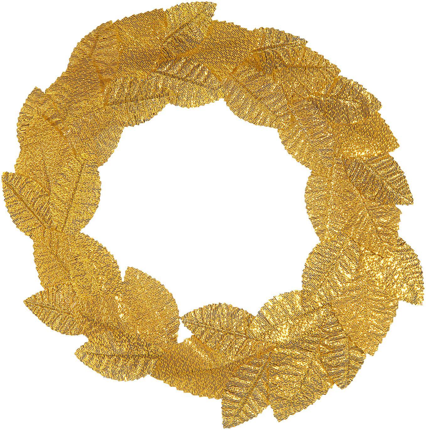 Gouden laurierblad hoofdkrans