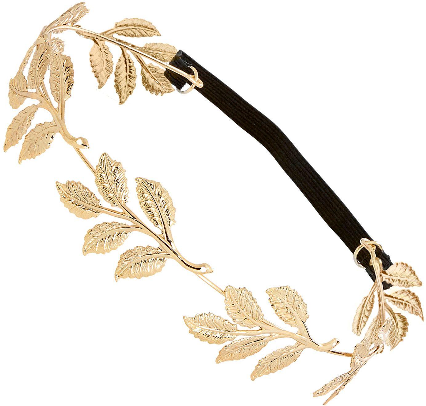 Gouden laurierblad kroon