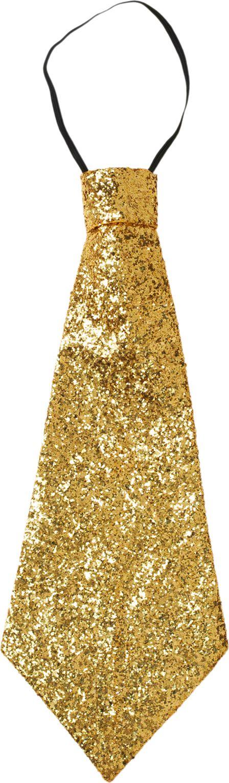 Gouden lurex stropdas