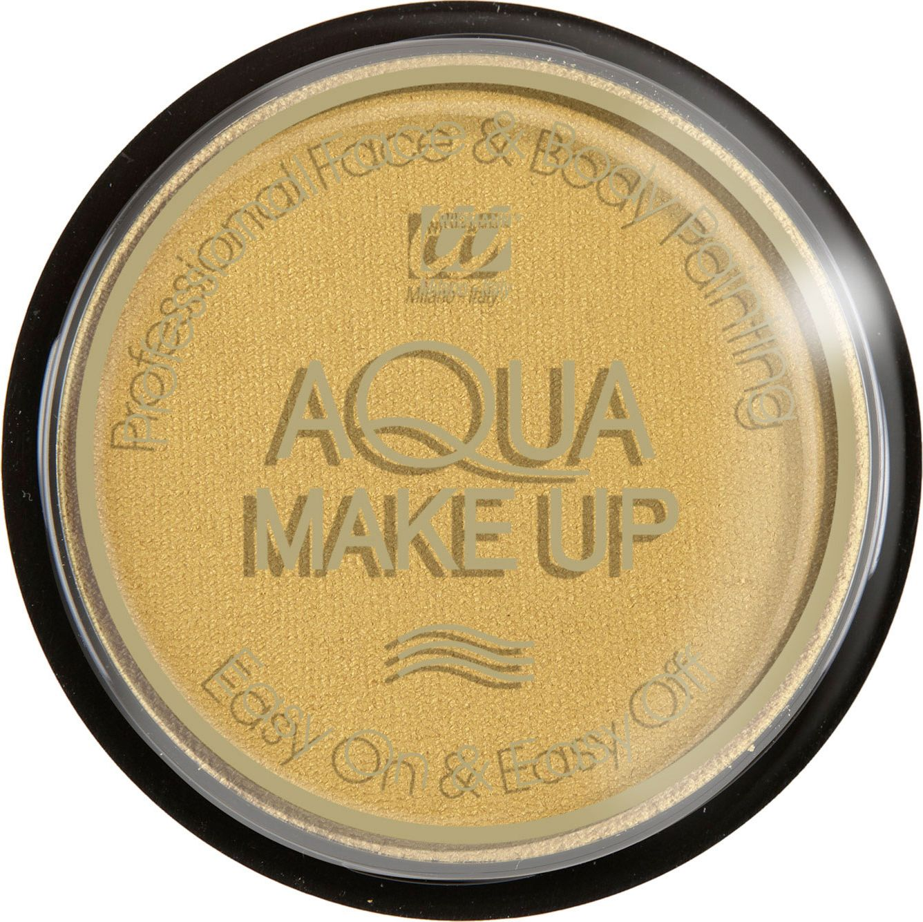 Gouden make-up waterbasis metallic