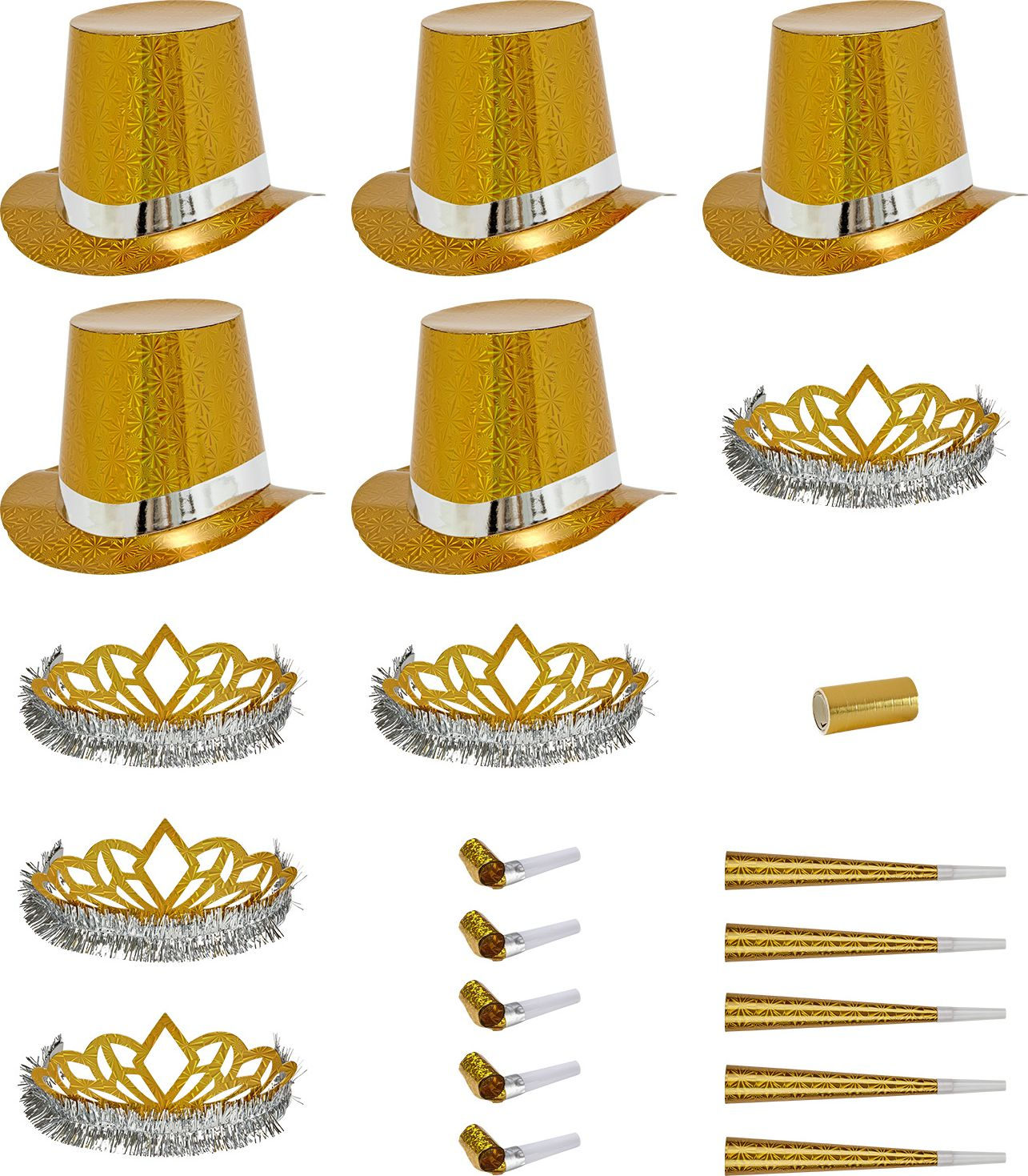 Gouden party kit