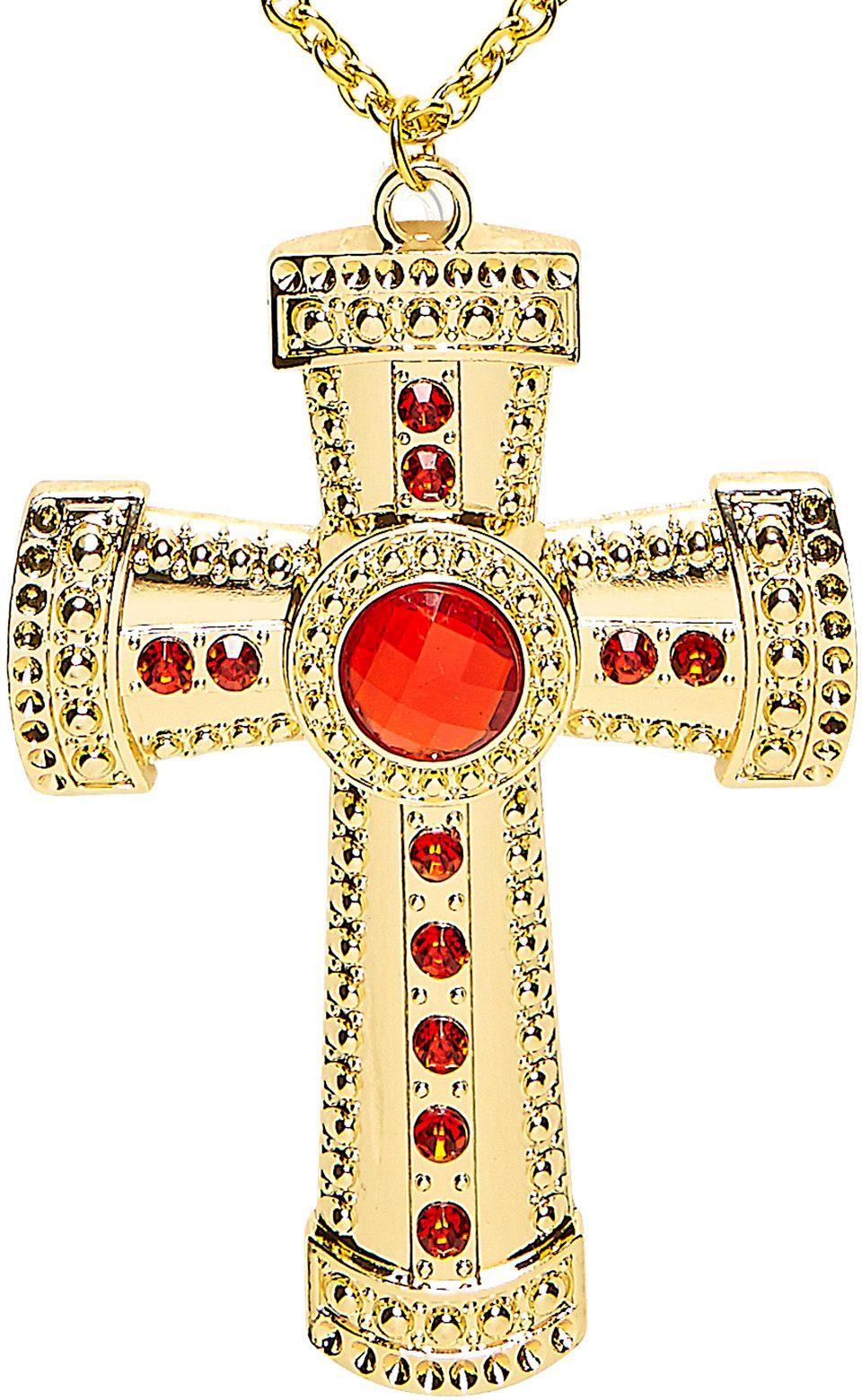 Gouden priester ketting