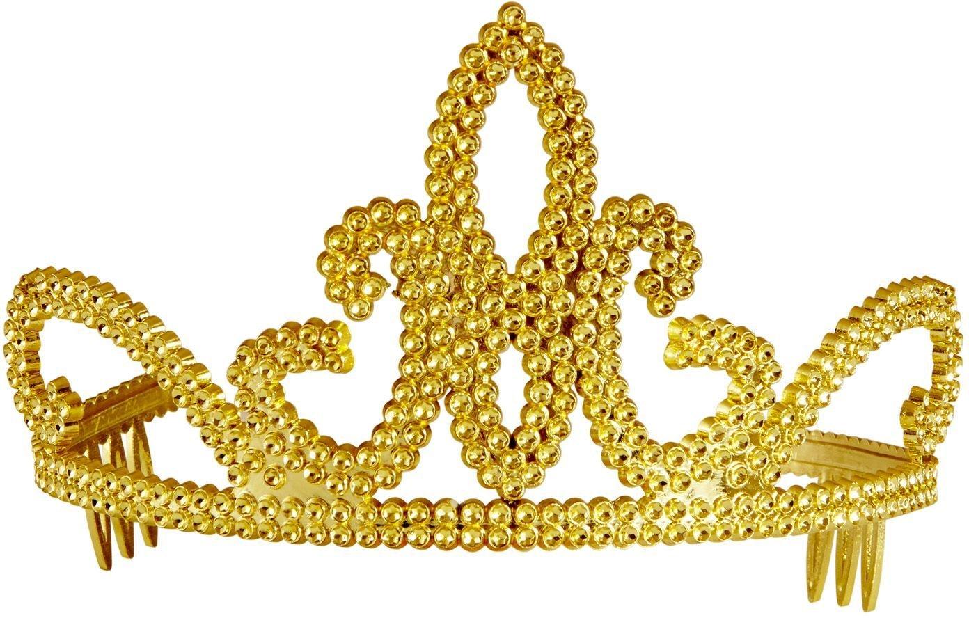 Gouden prinsesjes tiara