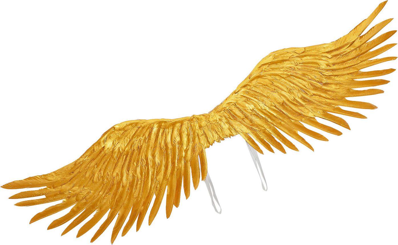 Gouden vleugels engel