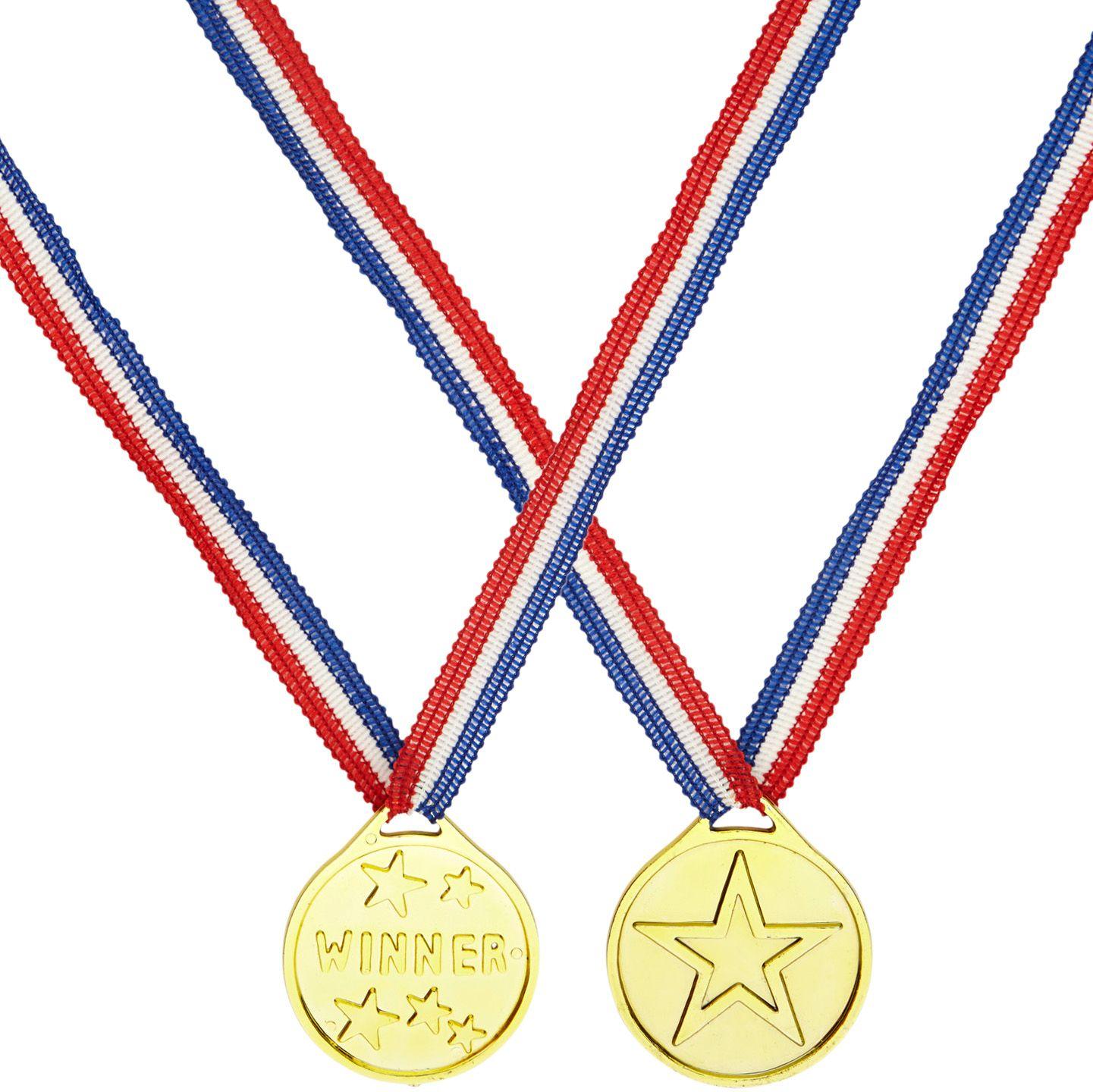 Gouden winnaars medaille