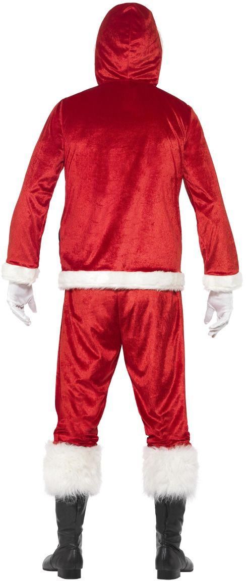 Grappige kerstmannen pak