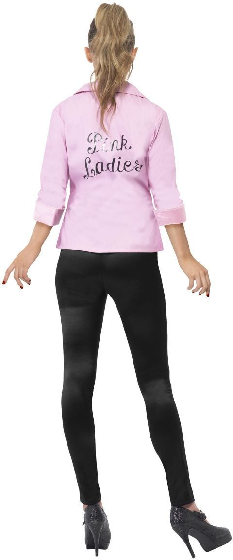 Grease pink ladies jacket roze