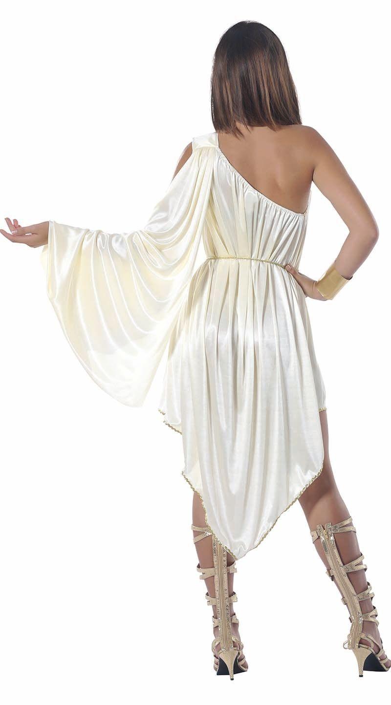 Griekse godin jurk dames