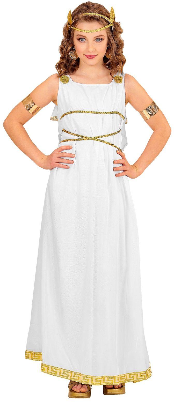 Griekse godin outfit kind