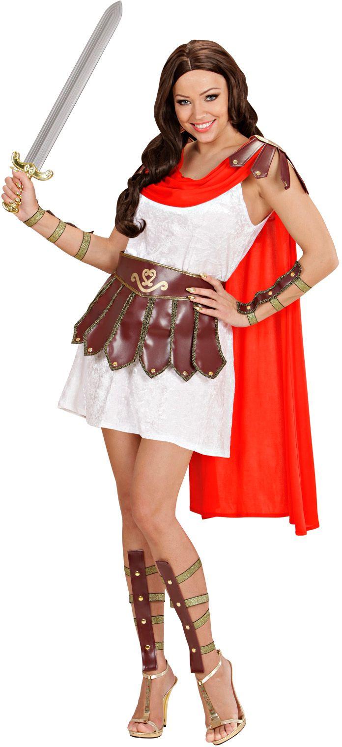 Griekse krijger prinses kostuum