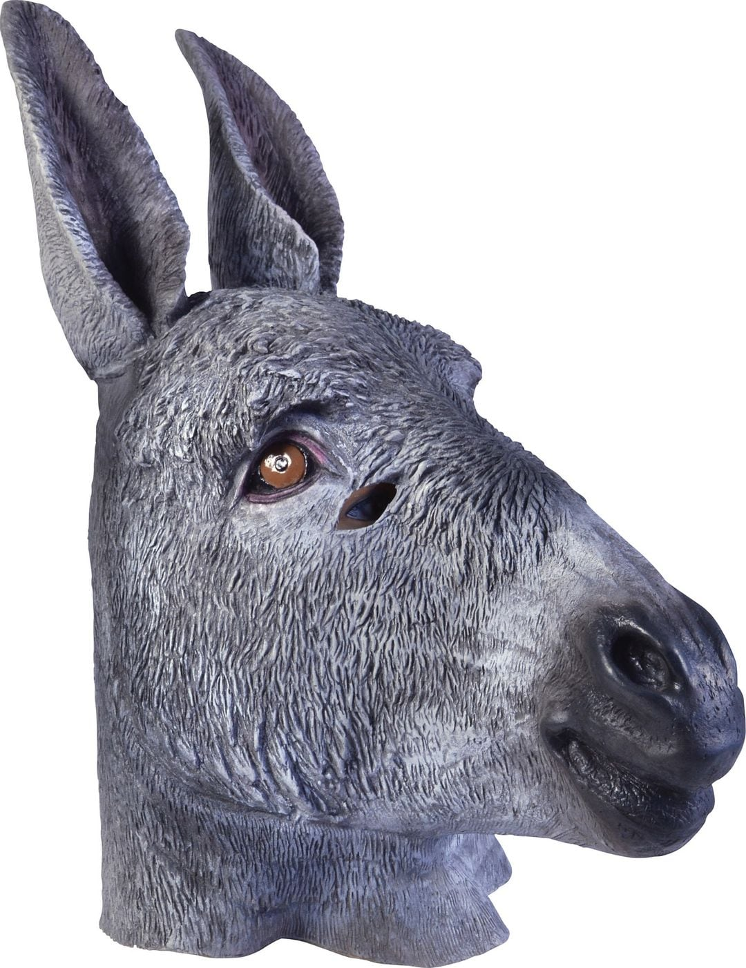 Grijs ezel masker