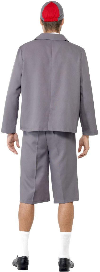 Grijs school uniform heren