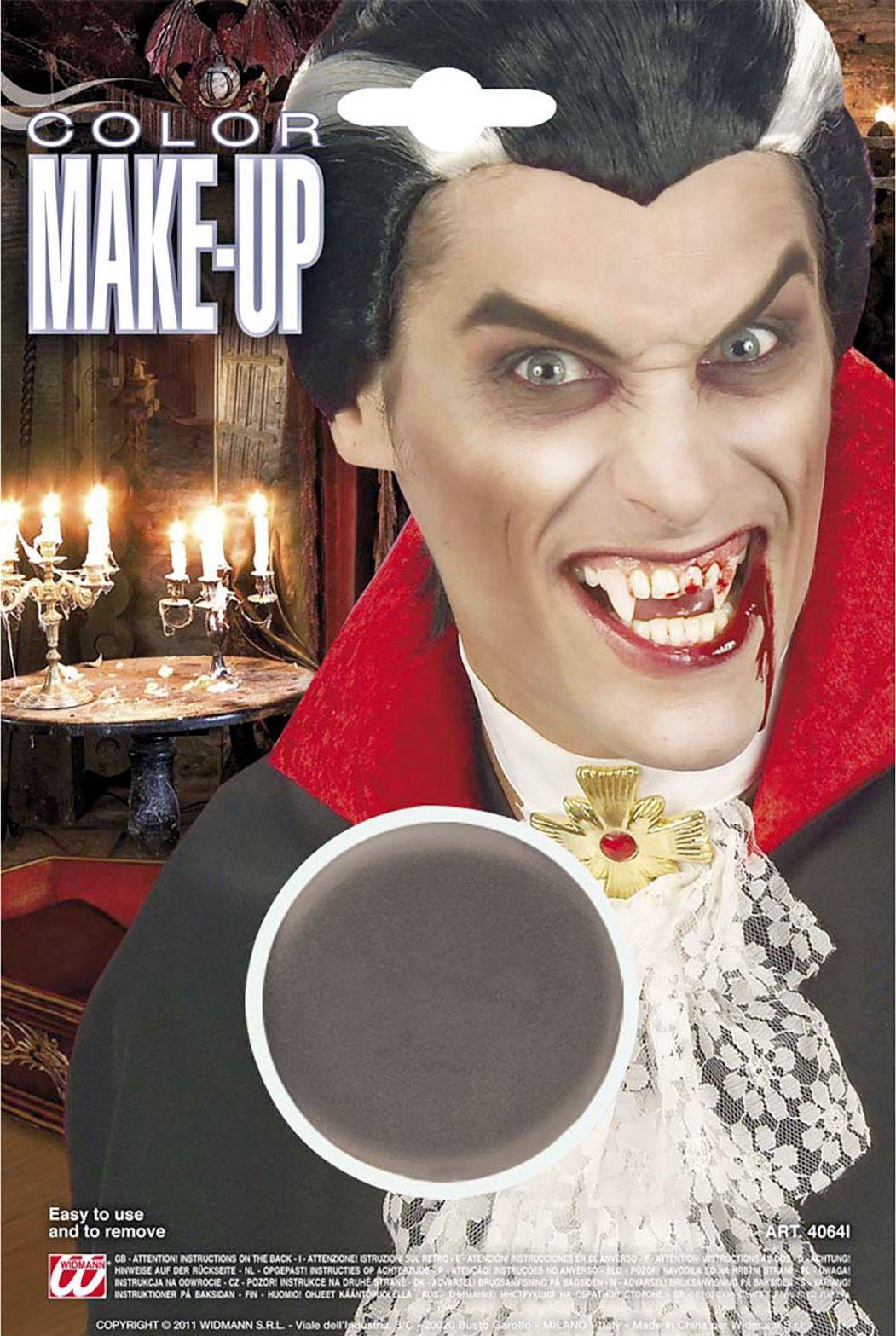 Grijze make-up
