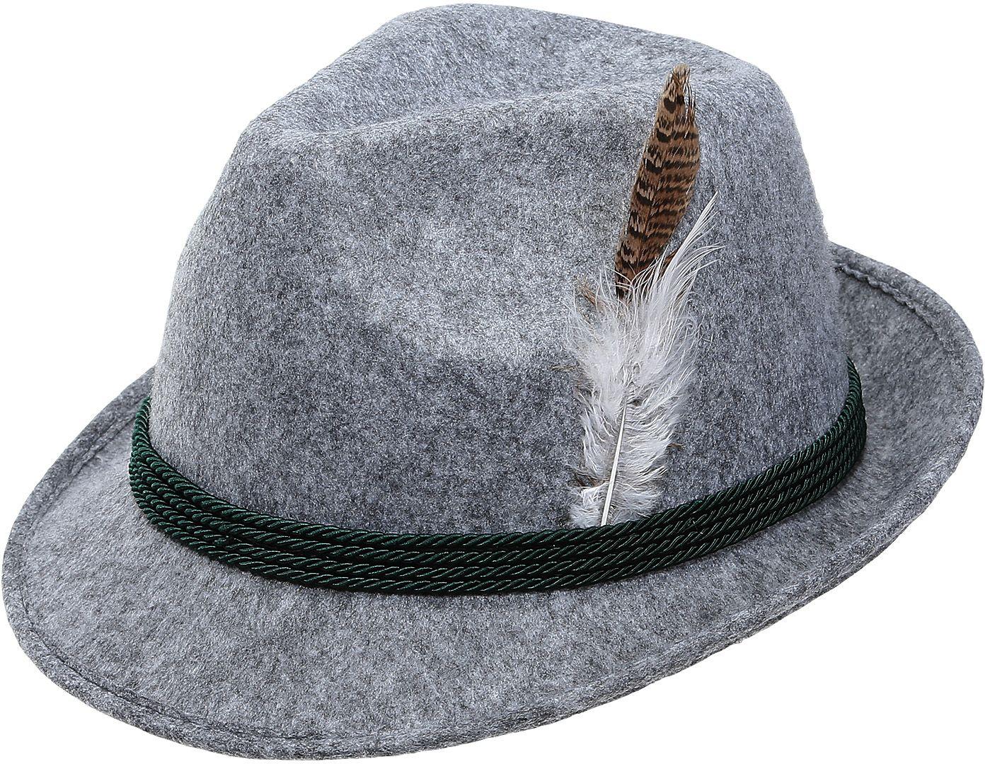 Grijze tiroler hoed mannen