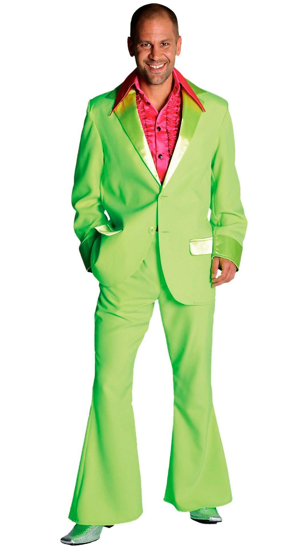 Groen 70s pak