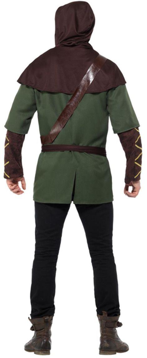 Groen bruine robin hood mannen outfit