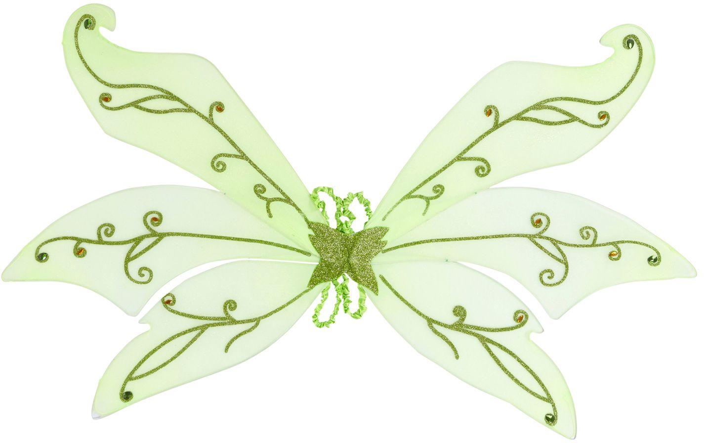 Groen feeën vleugels