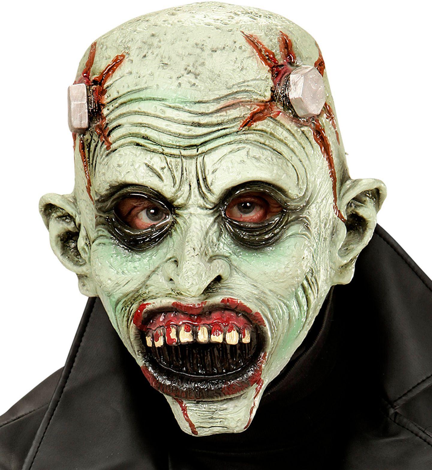 Groen frankenstein masker kind