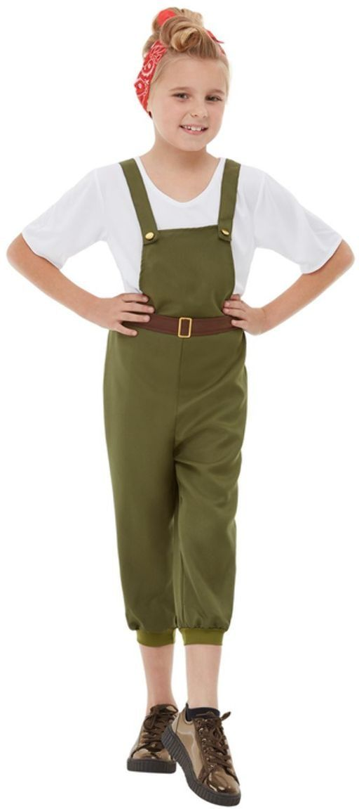 Groen plattelandsmeisje kostuum