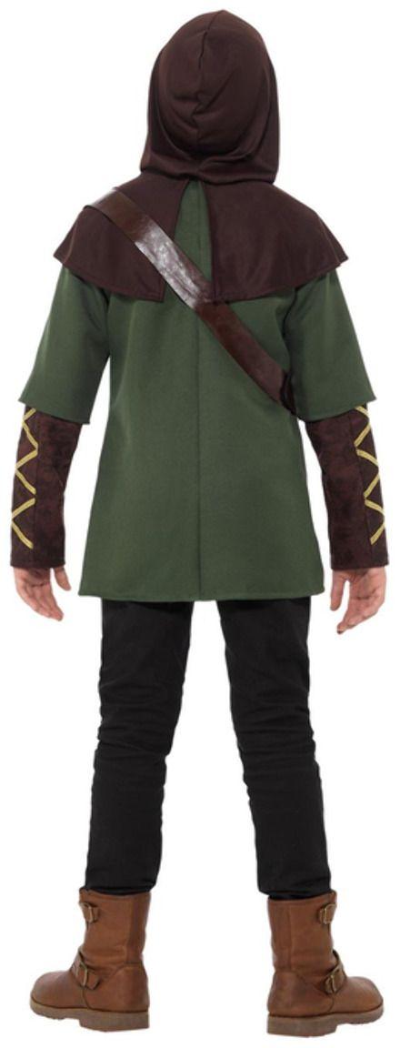 Groen Robin Hood jongens kostuum