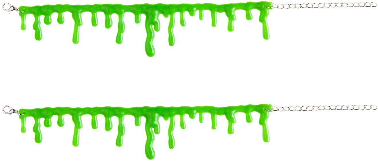 Groen slijm armband