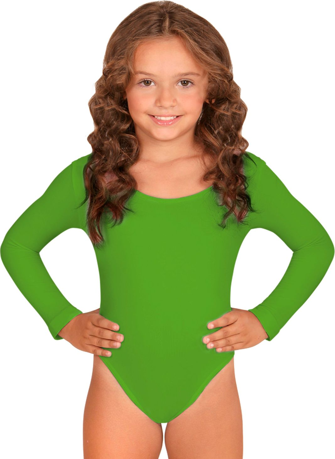 Groen turnpak meisjes