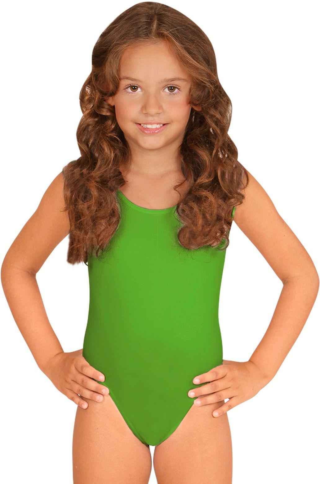 Groen turnpakje meisjes