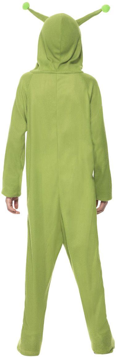 Groene alien onesie jongens
