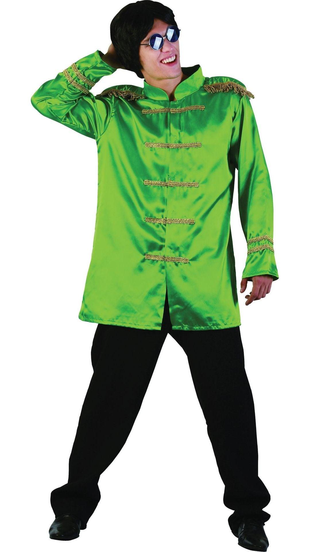 Groene Beatles jas