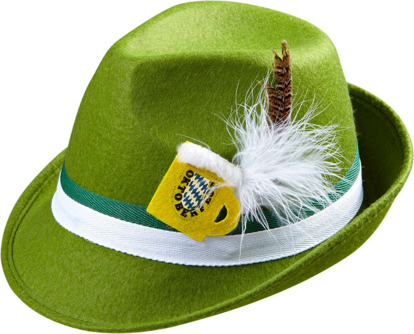 Groene Beierse hoed