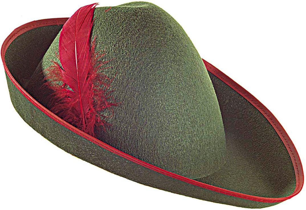 Groene boogschutters hoed