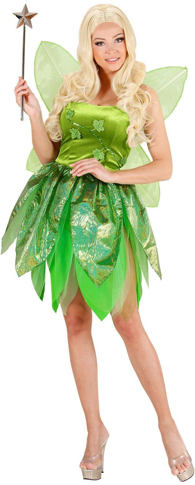 Groene Bosfee kostuum
