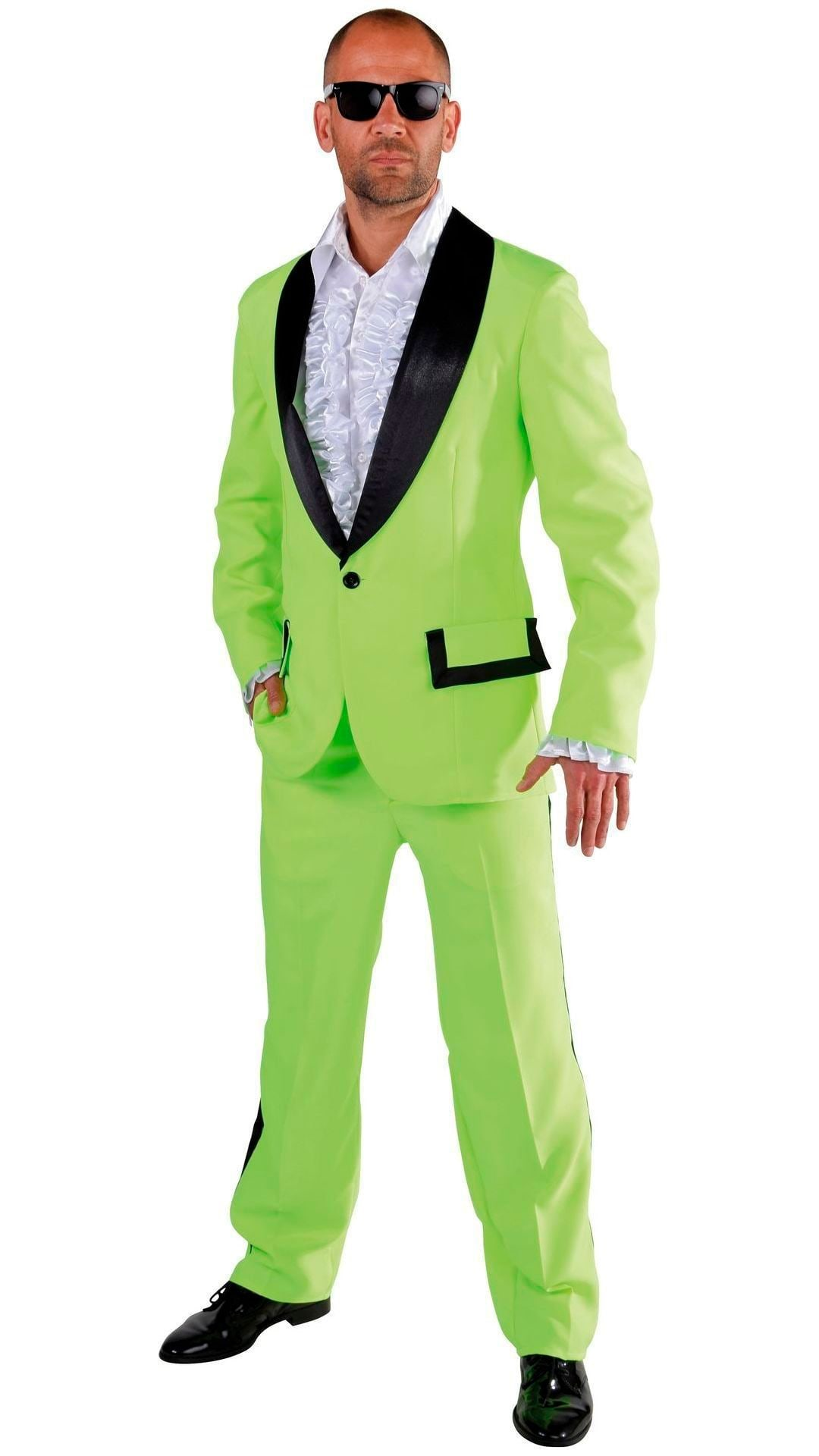 Groene carnavals smoking heren