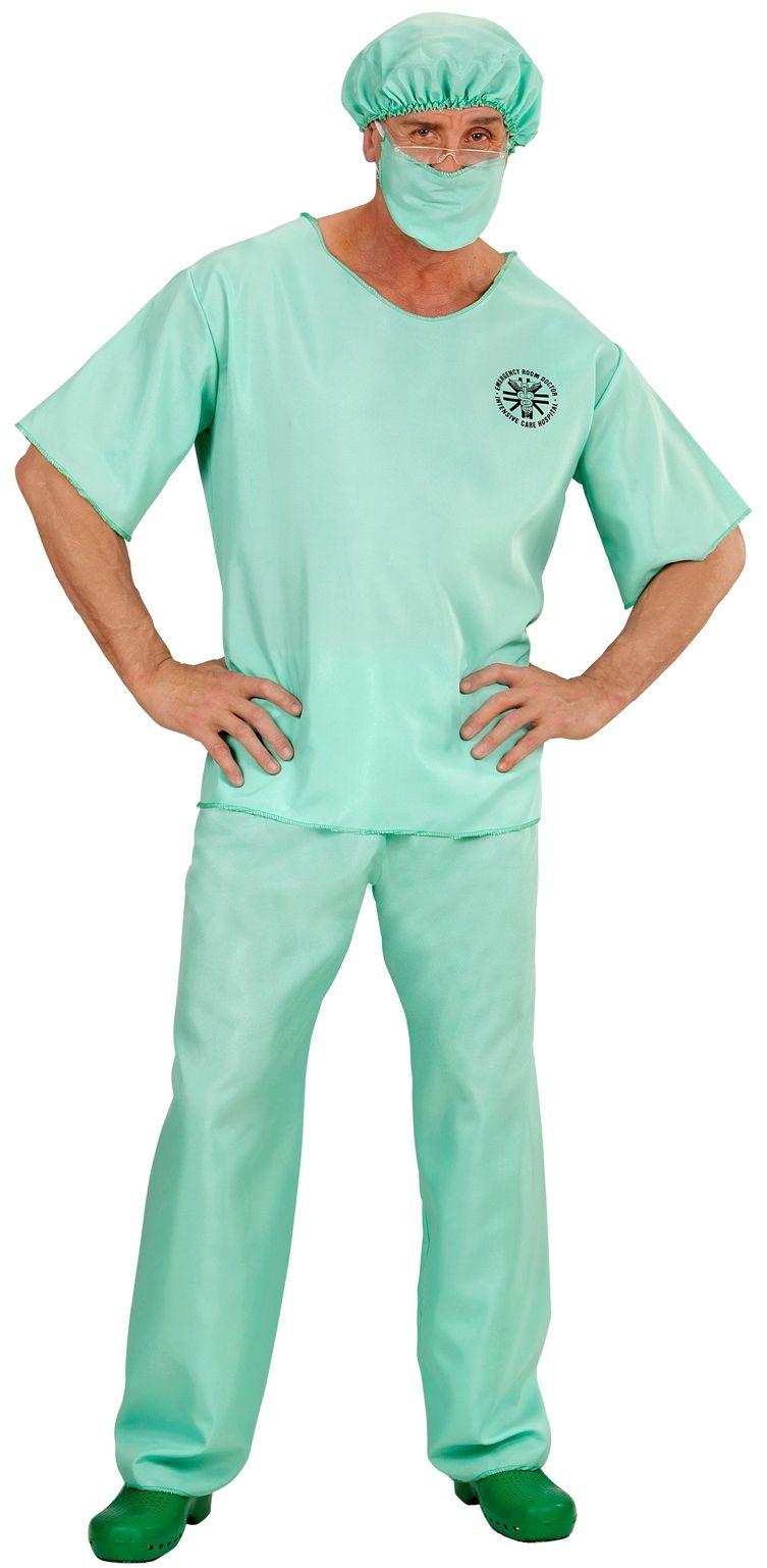 Groene chirurg dokter