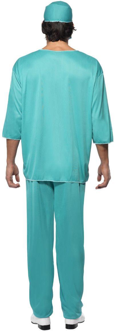Groene chirurg kostuum heren