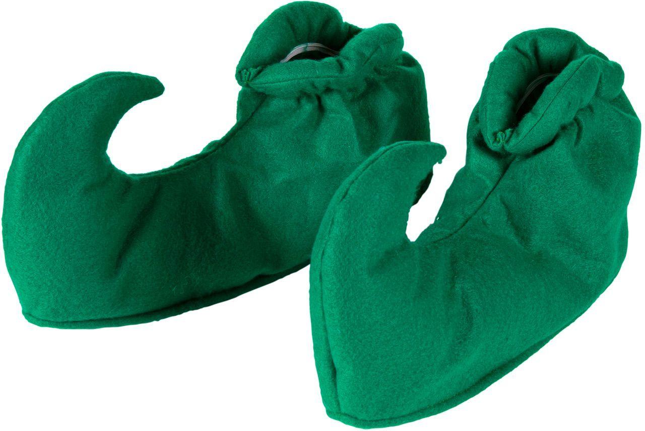 Groene elven schoenen