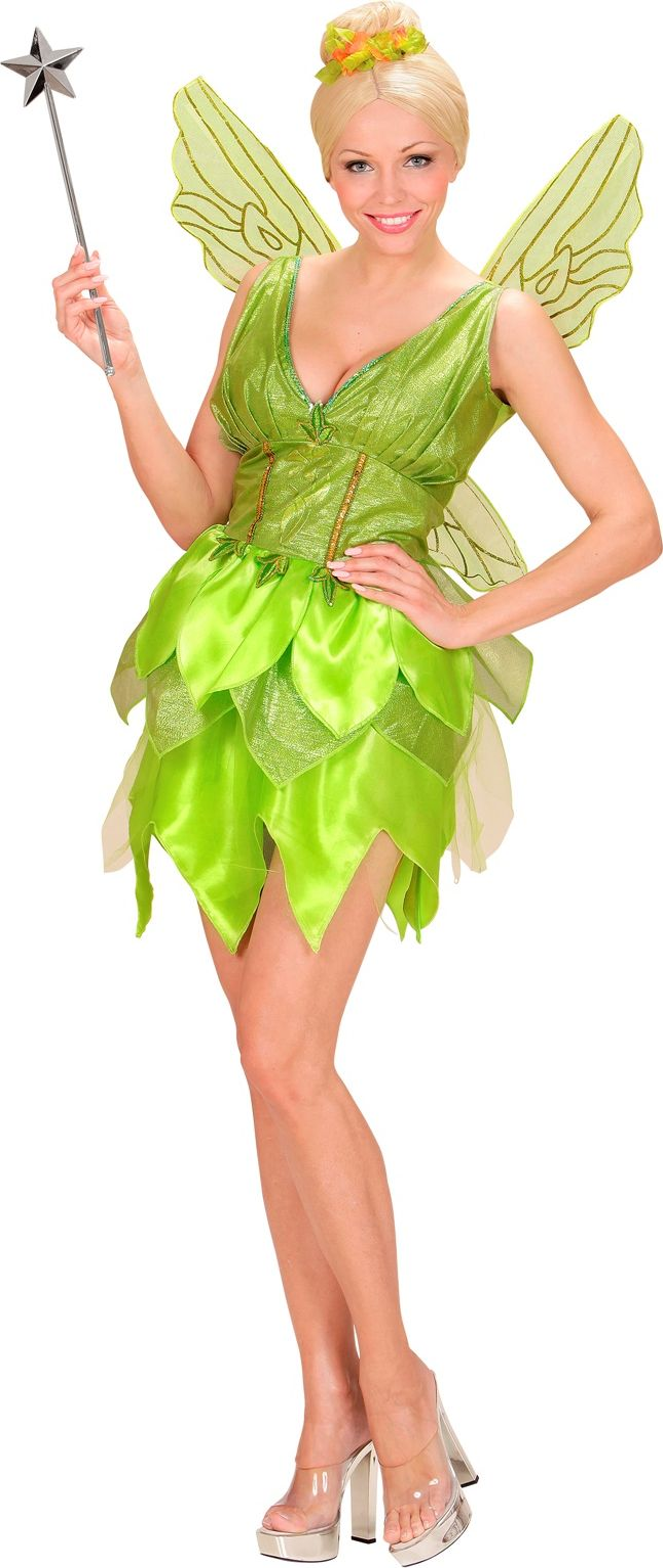 Groene fee kostuum dames
