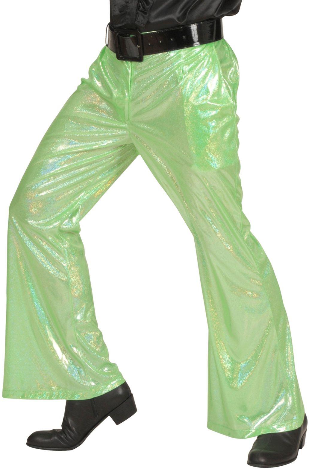 Groene holografische broek